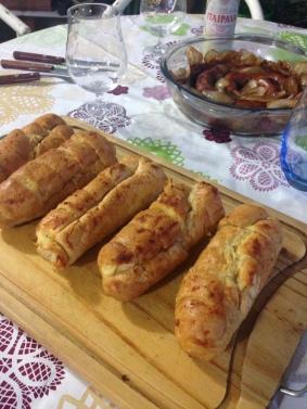 Pão de alho douradinho
